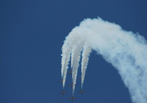 figure d'acrobatie aérienne