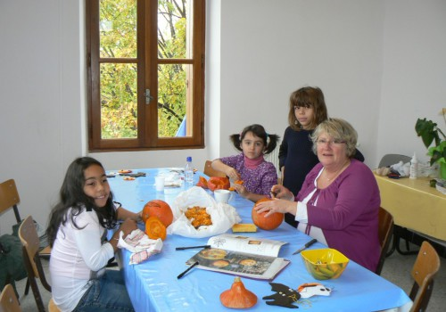 atelier de bricolage de Halloween 2011