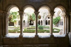 visite de l'abbaye de Fontfroide