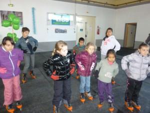 exercices sur la patinoire