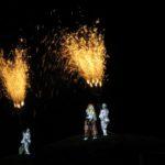 feu d'artifice spectaculaire