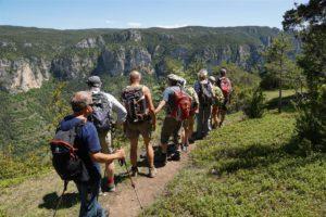 le panorama des gorges du Tarn