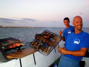 sardinade en mer