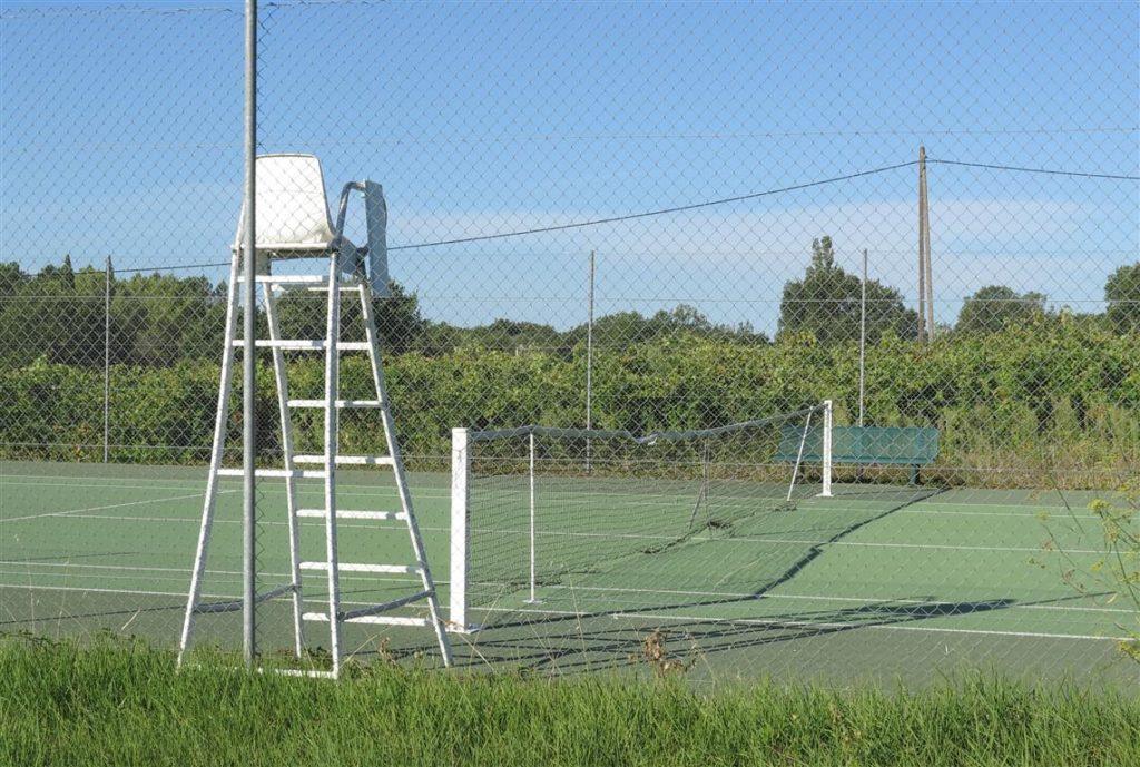 le tennis d'Aigaliers