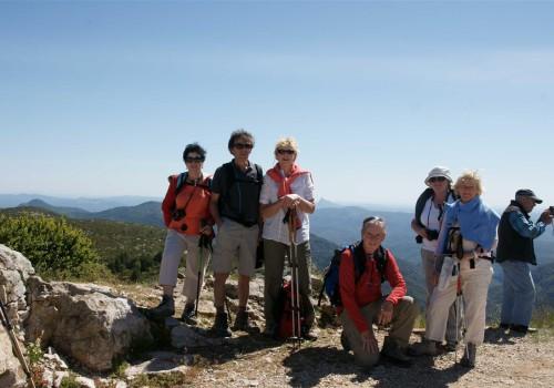 au sommet du Mont Saint Baudille