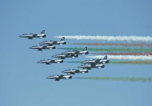 équipe d'acrobaties aérienne