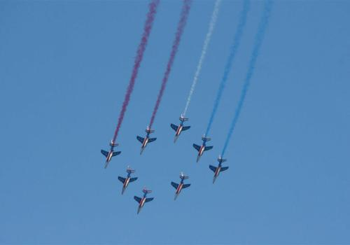patrouille de France, meeting aérien de Salon de Provence 2013