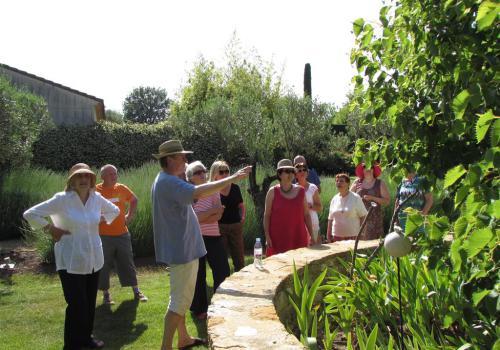 visite commentée du jardin