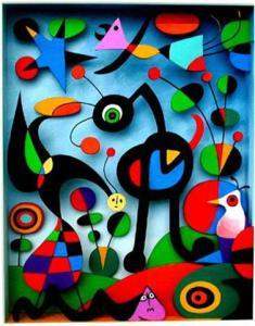Miro : The garden