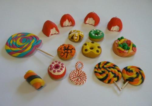 objets en pâte Fimo