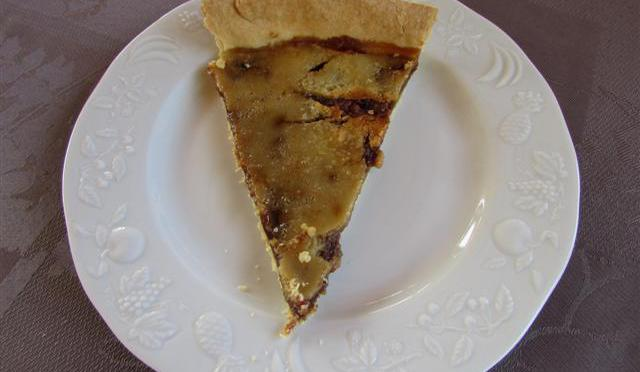 La tarte al chuc (tarte au sucre)