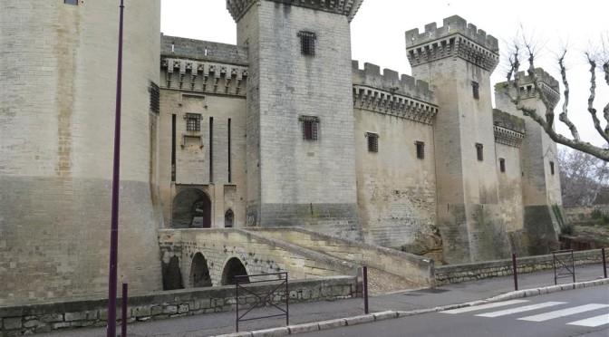 Visite au château de Tarascon