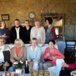 repas annuel, atelier tricot-thé