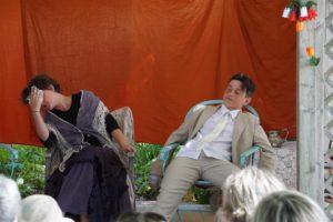 Lomov s'évanouit et Mme Tchouboukov s'exaspère