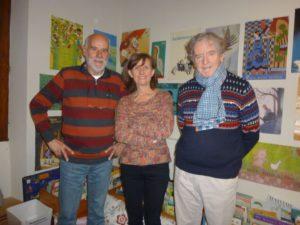 Yves, Claude et Jim : le bureau 2019