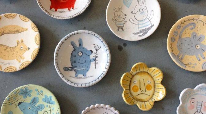 Nouveaux stages de Patchwork et peinture sur porcelaine
