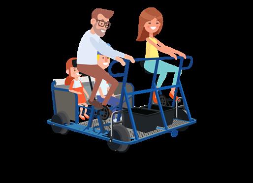 Sortie Vélo-rail à Thoiras le dimanche 12 mai