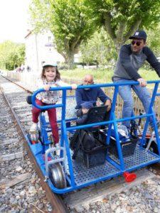 Vélo-rail
