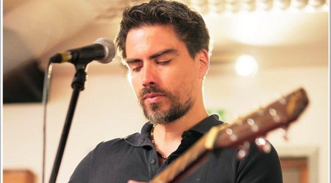 Fabien Delplace, artiste chanteur
