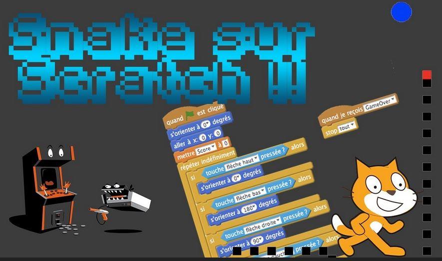 Créer un jeu Snake sur Scratch